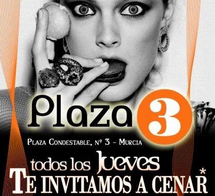 Cena gratis en Plaza Tres