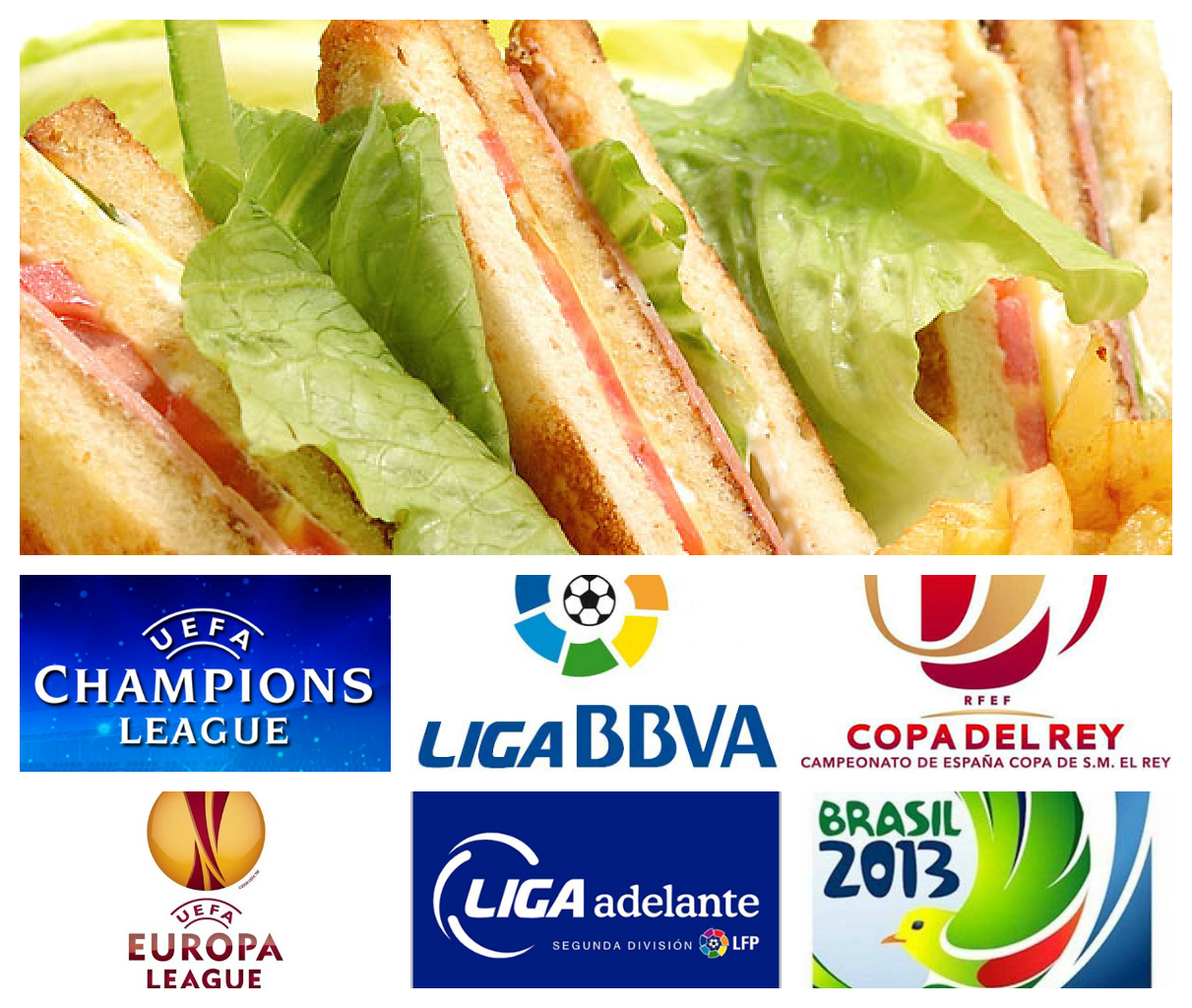 Menú y Fútbol por solo 6€ en Restaurante Vilanova