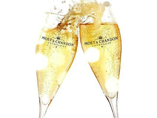 Regalo de Copas de Champagne de Moët & Chandon