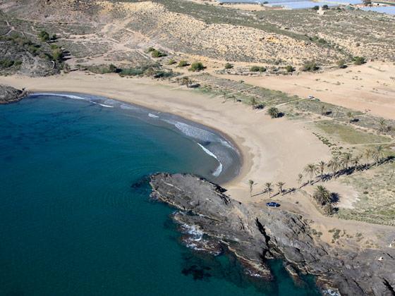 Resultado de imagen de percheles playa murcia